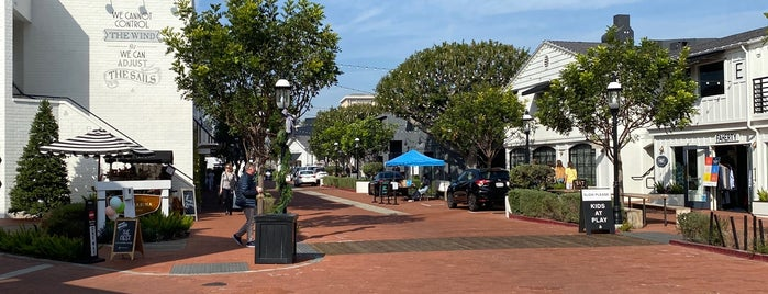 Lido Marina Village is one of LA.