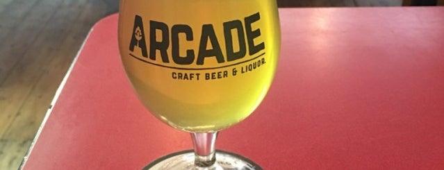 Arcade Beers is one of Orte, die David gefallen.