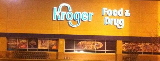 Kroger is one of Locais curtidos por Dawn.