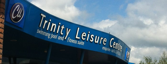 Trinity Leisure Centre is one of GLL Leisure Centres, Gyms, Pools.