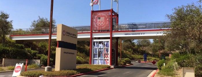 Chula Vista Elite Athlete Training Center is one of Lugares favoritos de Matt.