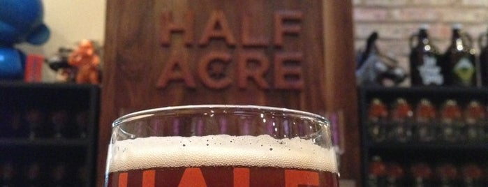 Half Acre Beer Company is one of America's Best Breweries.