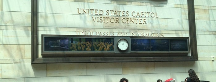 U.S. Capitol Visitor Center is one of Washington DC Museums.