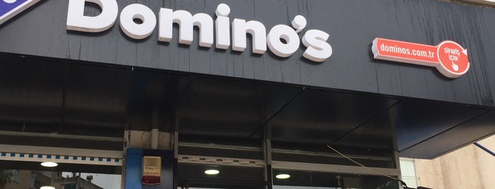 Domino's Pizza is one of สถานที่ที่ Caner ถูกใจ.