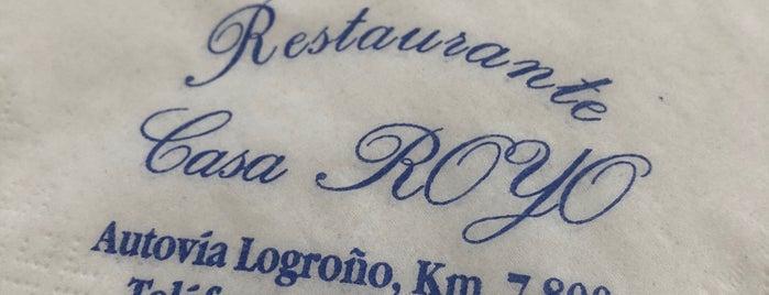 Casa Royo is one of Sitios donde comer (bien).