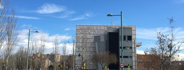 CREA - Confederación de Empresarios de Aragón is one of cuadrodemando : понравившиеся места.