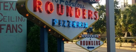 Rounders Pizzeria is one of Austin my way.