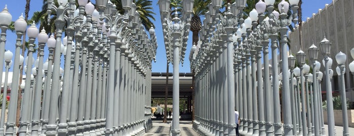 Los Angeles County Museum of Art (LACMA) is one of Lieux qui ont plu à Dominic.