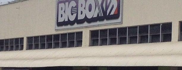 Big Box is one of Locais curtidos por Rafael.