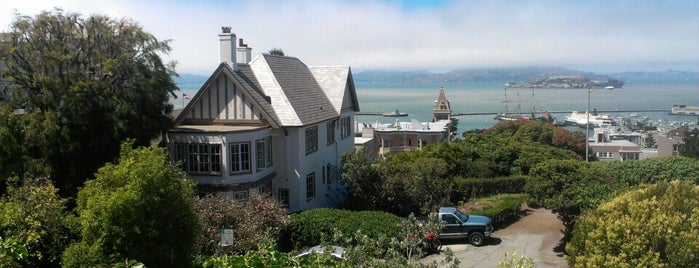 Russian Hill Park is one of San Francisco Bay.