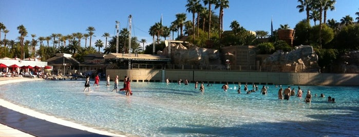 Mandalay Bay Resort and Casino is one of 50 Best Swimming Pools in the World.
