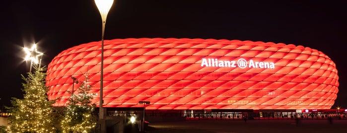 Allianz Arena is one of Luca 님이 좋아한 장소.