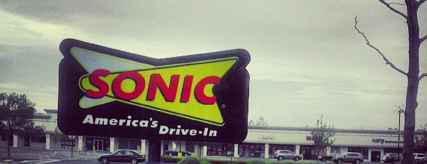 SONIC Drive In is one of Check In.