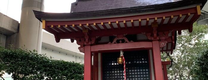 兜神社 is one of Find My Tokyo.