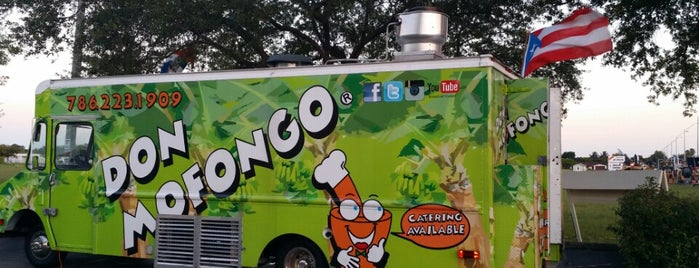 Don Mofongo Food Truck is one of Miami.