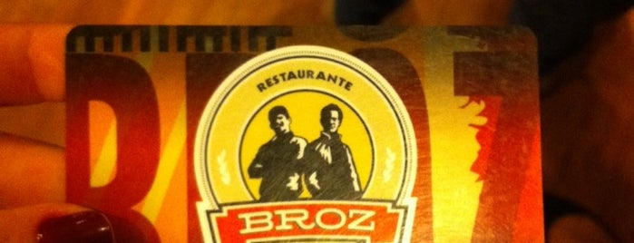 Restaurante Broz is one of Lugares favoritos de Thiago.