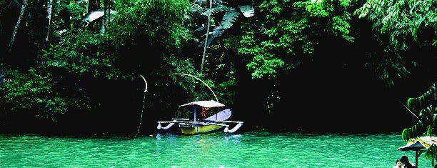 Green Canyon (Cukang Taneuh) is one of Java / Indonesien.