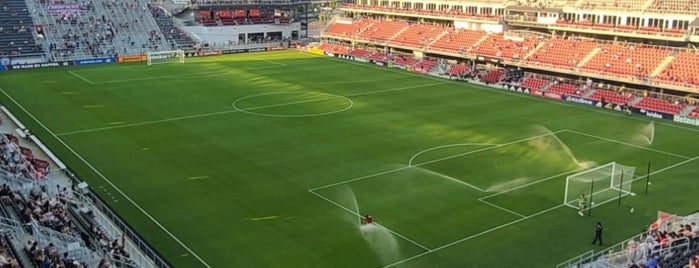 Audi Field is one of sports arenas and stadiums.