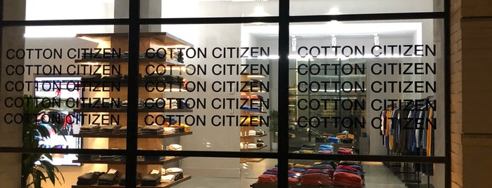 Cotton Citizen is one of 11 Howard's SoHo Discounts.
