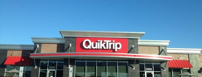 QuikTrip is one of B : понравившиеся места.