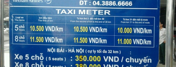 Noi Bai International Airport is one of Hanoi 2014.