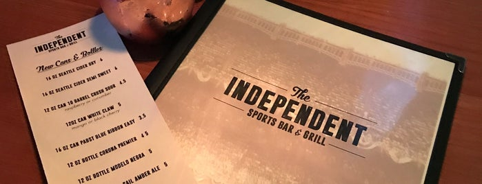 The Independent is one of Lugares favoritos de Whit.