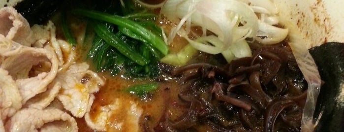 Menya Musashi Kodou is one of Eats: Singapore Ramen Hunt.