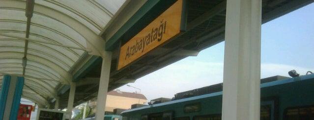Arabayatağı Metro İstasyonu is one of Check-in 5.