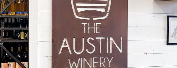 The Austin Winery is one of Happy Hour.