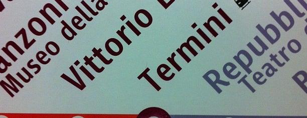 Metro Termini (MA, MB) is one of Rome.