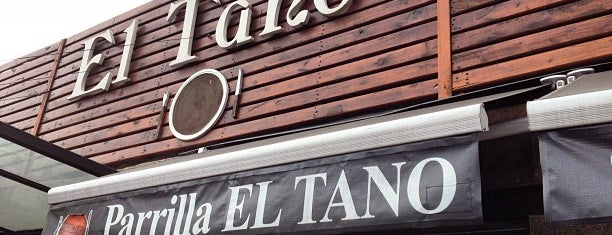 Parrilla El Tano is one of Restaurantes.