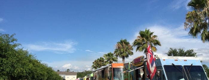 The Food Truck Bazaar at Avalon Park is one of Orlando City Badge - The City Beautiful.