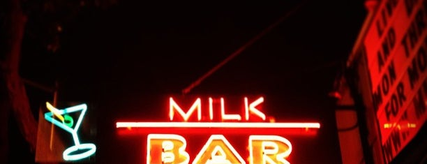 Milk Bar is one of An Arty Elitist's Guide to San Francisco.