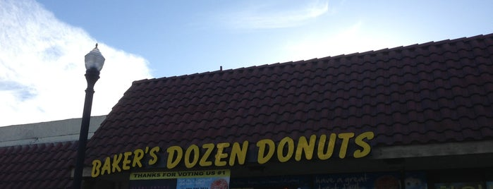 Baker's Dozen Donuts - Deli & Delights is one of My Personal List.
