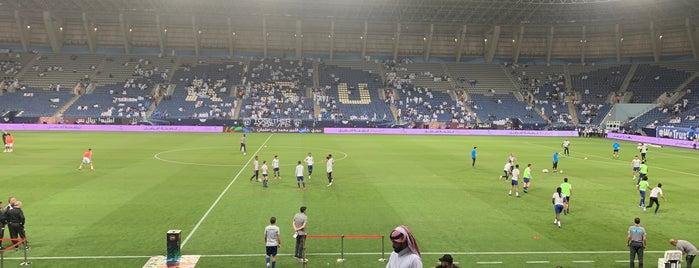 Hilal F.C. Stadium is one of Locais curtidos por Mohammad.
