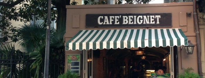 Cafe Beignet is one of NOLA.
