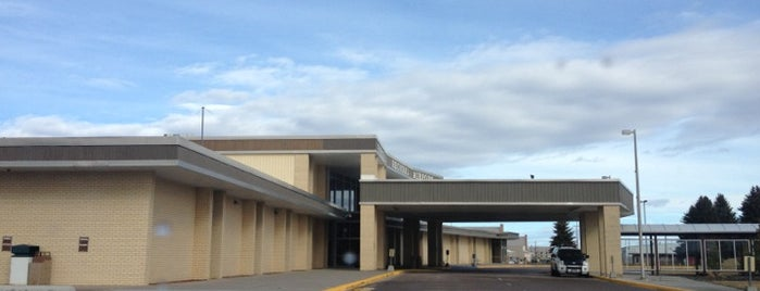 Pocatello Regional Airport (PIH) is one of Airports I've flown thru.