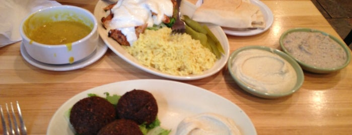Jerusalem Garden is one of Dara's Ann Arbor Favorites.
