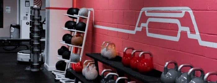 The gym is one of สถานที่ที่ Emyr ถูกใจ.