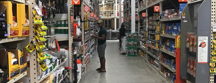 The Home Depot is one of Delray.