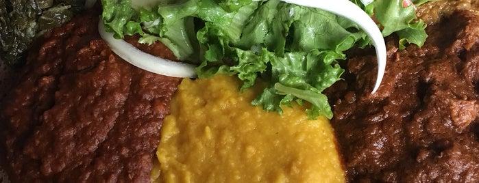Gojo Ethiopian Restaurant is one of Lugares favoritos de William.