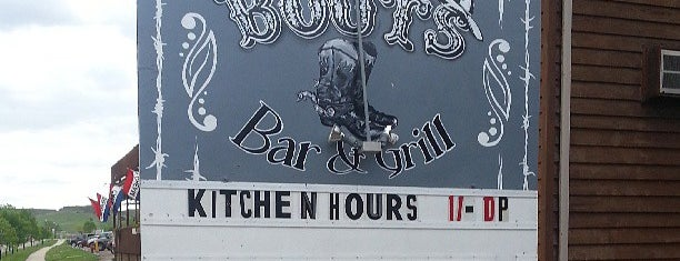 Boots Bar & Grill is one of Top picks for Burger Joints.