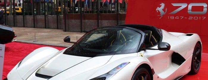 Ferrari North America is one of Tempat yang Disukai Michael.