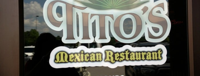 Tito's Mexican Restaurant is one of Jillianさんのお気に入りスポット.