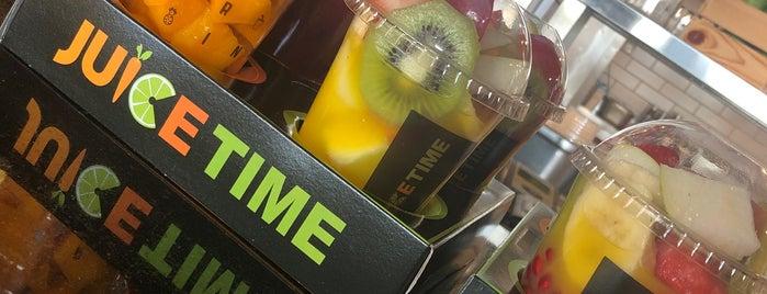 Juice Time is one of Lugares guardados de Queen.