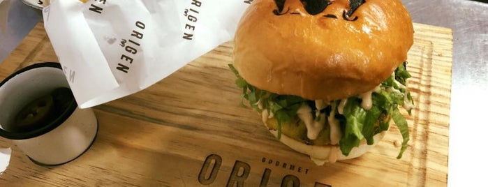 Origen Gourmet is one of Tempat yang Disukai Laura.