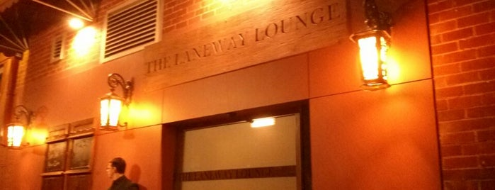 The Laneway Lounge is one of Perth small bars guide.