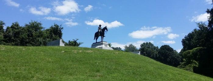 Vicksburg National Military Park is one of Mississippi.