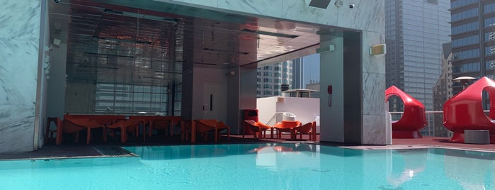 Rooftop Pool The Standard Hotel is one of LA 2019.