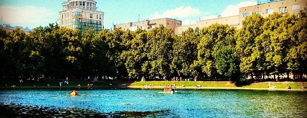 Patriarshiye Ponds is one of Москва.